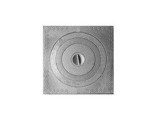 Плита чугунная 1-конф. П1- 6, 600х600 под казан (РУБЦОВСК)