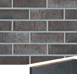 Клинкерная плитка фасадная Röben SYDNEY 20 Антрацитовый с оттенком NF14