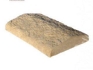 810-20 Накрывочная плита двухскатная, 35*25, песочный