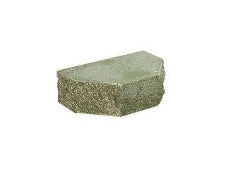 Кирпич фасонный полнотелый BARRUM Трапеция №1 Зеленый