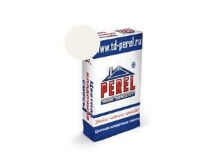 Цветная кладочная смесь Perel NL 0101 супер-белая, 50 кг