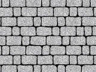 """Тротуарная плитка Выбор """"Стоунмикс"""", АРЕНА Бело-чёрный"""