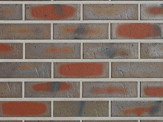 Клинкерная плитка фасадная Röben ODENWALD Топлено-пестрый NF14