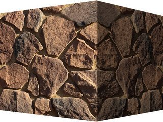 "602-95 White Hills ""Рутланд"" (Rutland), коричневый, угловой, Нормативная ширина шва 1,5-2,5 см."