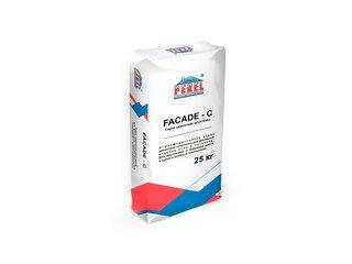 Цементная шпатлевка Perel Facade - c 0650 для финишной отделки, 25 кг