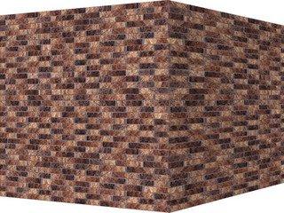 "311-45 White Hills ""Алтен брик"" (Aalten brick), коричнево-медный, угловой, Нормативная ширина шва 1,"