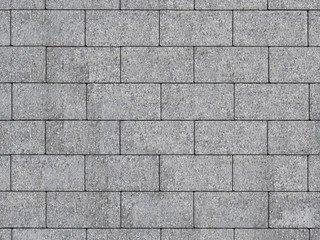 """Тротуарная плитка А.1.П.4,Б.1.П.6,В.1.П.8 """"Прямоугольник"""" Серый 100х200х80 Бассировка"""