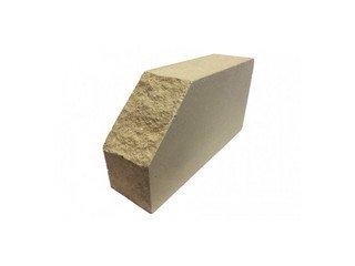 Кирпич фасонный полнотелый BARRUM Фигурный №2 Слоновая кость