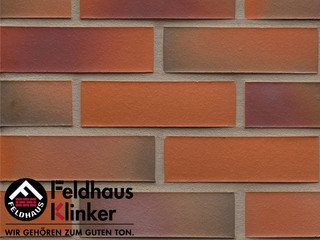 Плитка дляфасада Feldhaus Klinker R489NF14* galena terreno rosato