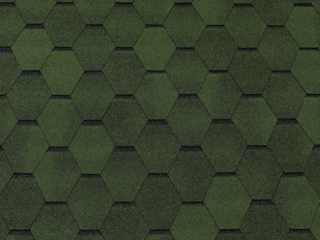 Tegola (TOP SHINGLE) СМАЛЬТО зеленый