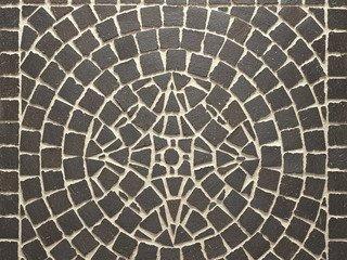 Клинкерная мозаика Feldhaus Klinker M609DF umbra ferrum