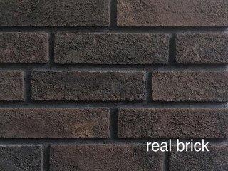 REAL BRICK. Кирпич ручной формовки RB КР/0,5ПФ RB 06 горький шоколад
