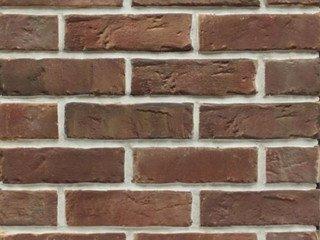 Клинкерная плитка фасадная Старый кирпич Мини прямая Терракот Рядовая 70x240 толщина