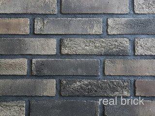 REAL BRICK. RB 3-11/1 Умбра жжёная Плитка: 198*48*16 0,53(44шт)