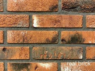 REAL BRICK. Кирпич ручной формовки RB КР/0,5ПФ угловой RB 03 глина