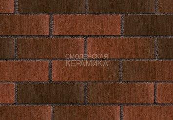 Кирпич лицевой керамический ЛСР Красный флэш тростник, 1НФ 3
