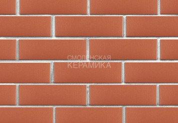 Клинкер фасадный ЛСР «Лондон» красный гладкий 1