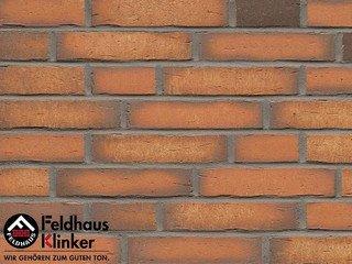 Плитка под кирпич Feldhaus Klinker R758DF14 vascu terracotta