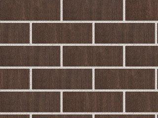 Кирпич лицевой керамический ЖКЗ Темно-коричневый Бархат 1,4НФ