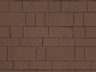 Тротуарная плитка ARTSTEIN Инсбрук Тироль коричневый, 60 мм