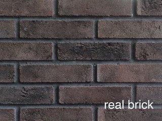 REAL BRICK. RB 3-06 Горький шоколад Плитка: 198*48*11 0,53(44шт)