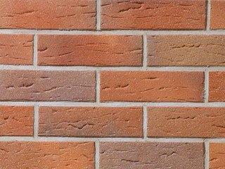 Клинкерная плитка фасадная--- 416 rotterdam Stroeher Рядовая 115x240+71 толщина 11