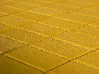 Тротуарная плитка BRAER Прямоугольник Жёлтый, 40 мм