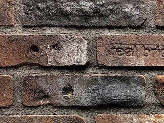 Плитка ручной формовки Real Brick RB 6-04 antic глина античная бордовая