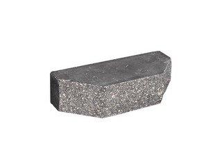 Кирпич фасонный полнотелый BARRUM Трапеция №3 Мокрый асфальт
