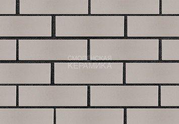 Кирпич лицевой керамический ЛСР Светло-серый гладкий, 1НФ 4