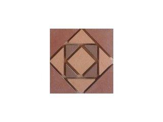 Вставка мозаичная из клинкера (на сетке) Square/Квадрат Ecoclinker