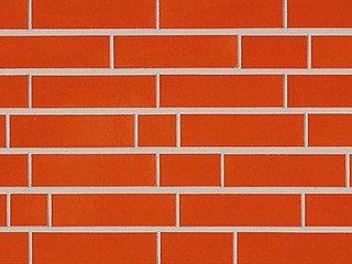 Клинкерная плитка фасадная ABC Klinker Glanzriemhen Orange 320