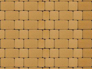 """Тротуарная плитка ТП А.1.Фсм.4, ТП Б.1.Фсм.6 """"Инсбрук Альт"""" Желтый Гладкая 40"""