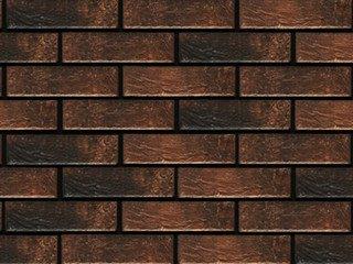 Фасадная термопанель рядовая АЛЯСКА 32. Loft brick cardamon, 60 мм