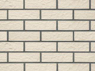Клинкерная плитка фасадная Röben MONTBLANC белый перламутровый рифленая NF14