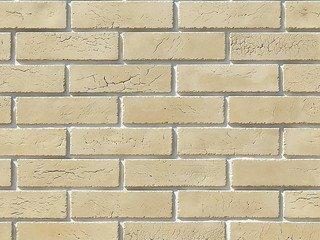 """360-10 White Hills """"Терамо брик II"""" (Teramo brick II), бежевый, плоскостной, Нормативная ширина шва"""