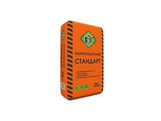 Клей плиточный СТАНДАРТ FIX, 25 кг