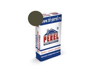 Цветная кладочная смесь Perel NL 5115 темно-серая, 51 кг