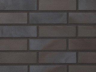 Клинкерная плитка фасадная 336 metallic black Stroeher Угловая 115x240+71 толщина 11