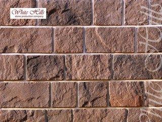 "412-40 White Hills ""Шинон"" (Chinon), темно-коричневый, плоскостной, Нормативная ширина шва 1,5 см."