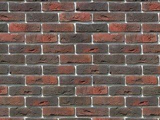 "301-40 White Hills ""Лондон брик"" (London brick), темно-коричневый, плоскостной, Нормативная ширина ш"