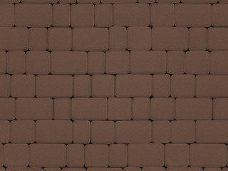 Тротуарная плитка ARTSTEIN Инсбрук Альт коричневый, 40 мм