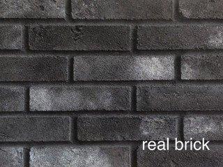 REAL BRICK. RB 3-08 Седой граф Плитка: 198*48*13 0,53(44шт)