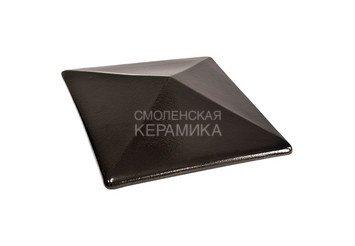 Керамическая шляпа King Klinker 310х445 ониксовый черный 1