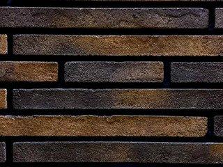 Плитка ручной формовки Real Brick RB 10-19 Кора дуба