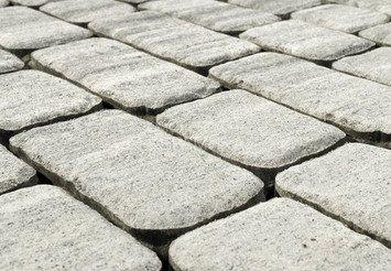 Тротуарная плитка BRAER Ривьера, Серый 1
