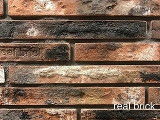 REAL BRICK. Кирпич ручной формовки RB КР/0,5ПФ РИГЕЛЬ antic RB 10 antic глина античная кирпичная