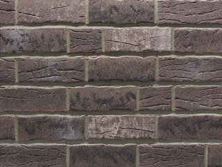 Клинкерная плитка фасадная Stroher 375 platingrau 14 мм