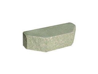 Кирпич фасонный полнотелый BARRUM Трапеция №3 Зеленый