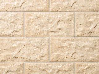 Клинкерная плитка фасадная KS 02 gelb Stroeher Рядовая 71x221+148 толщина 12